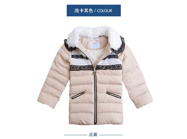 虹猫华人娱乐测速彩票官方网站女童冬装棉衣外套加厚棉服
