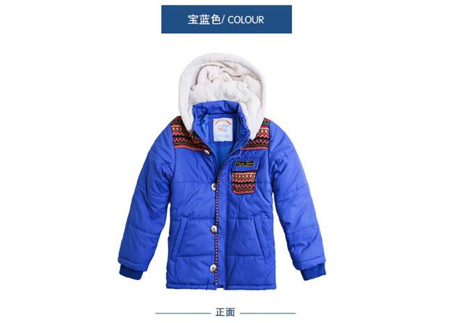 虹猫章鱼彩票安卓男童棉衣加厚外套