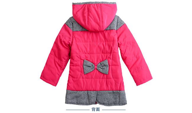 虹猫章鱼彩票安卓女童棉衣中长款